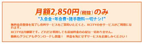 XCITYアダルト動画の評判・評価と入会体験口コミ2